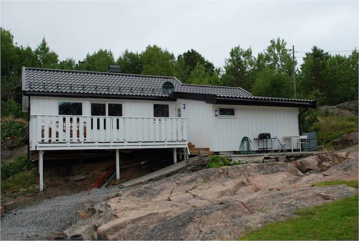 Koselig hytte i Kilsund