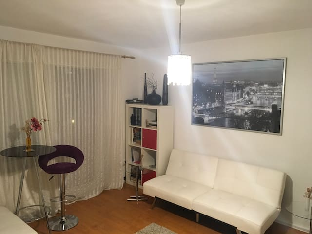 2 room apartment Schwabing near BMW Olympia Park