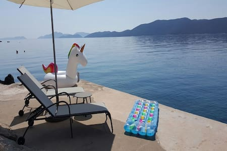 One Bedroom Holiday Home with Terrace & Sea view - Slano - Haus