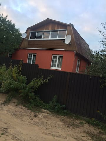 Дом в 9ти км от Минска - Острошицкий Городок - บ้าน
