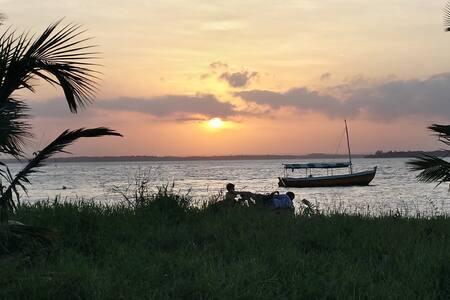 Casa em frente ao mar na ilha - Cacha Pregos - House