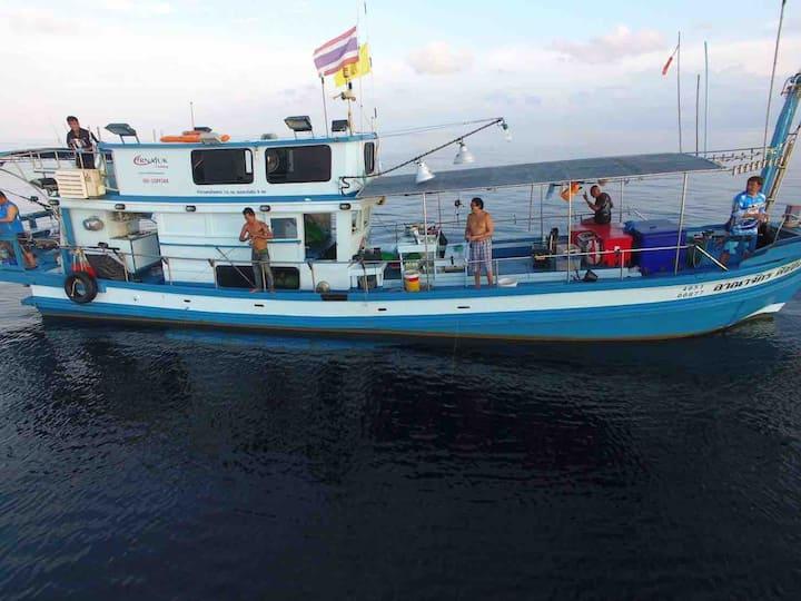 Arnajuk Fishing Trip in Phuket