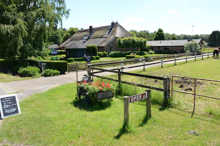 Landelijk B&B in Kampioenendorp (Sistre Indre)