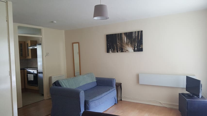 Lovely Studio Flat, Secure and Quiet with Parking - Liverpool - Apartment