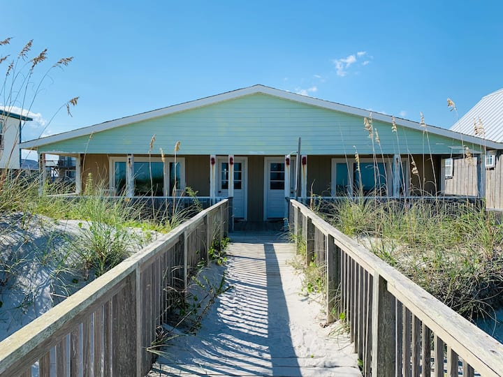 Wall Cottage- South  ~ Oceanfront & Dog Friendly