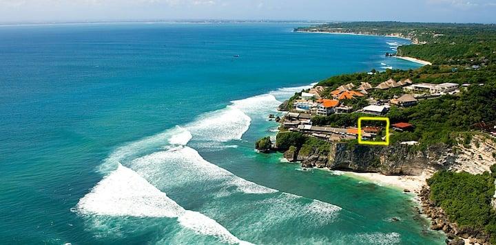 Séjour chez l'habitant à Uluwatu Beach Bali Delpi.
