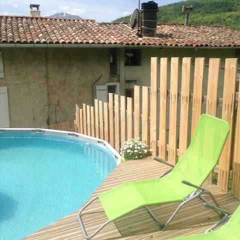 Beautiful house with annex and pool - Lesparrou - Ev