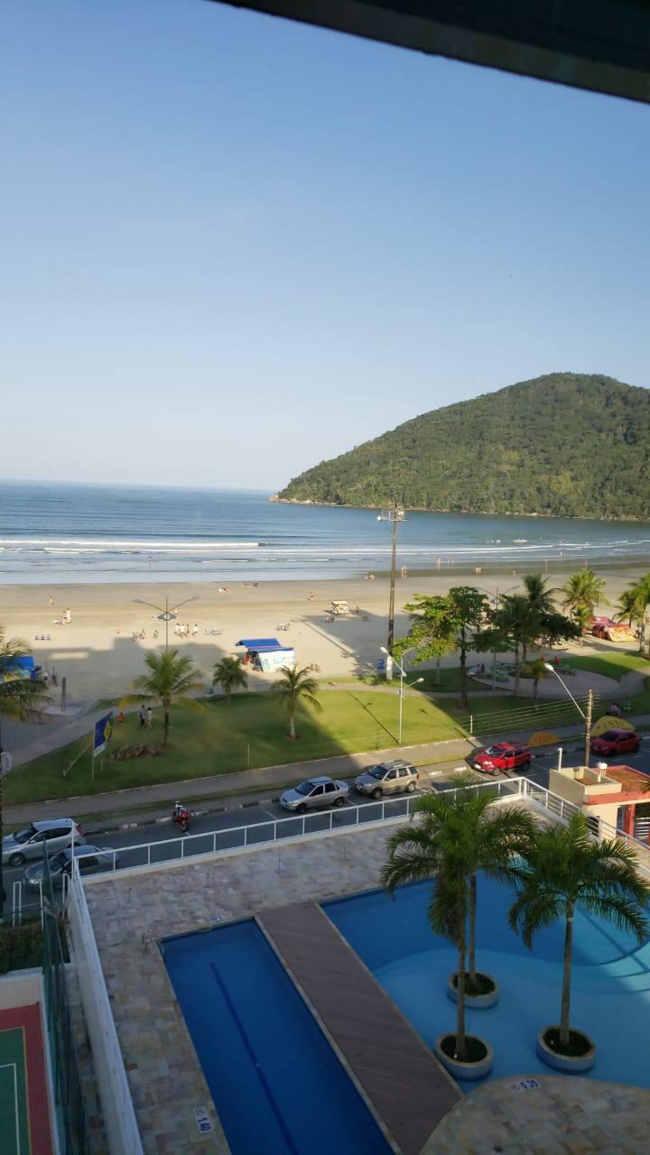 Paraíso Bertioga apartamento em frente ao mar!