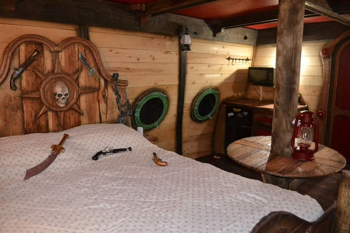 Captain's Quarters, bedding/comforter NOT included