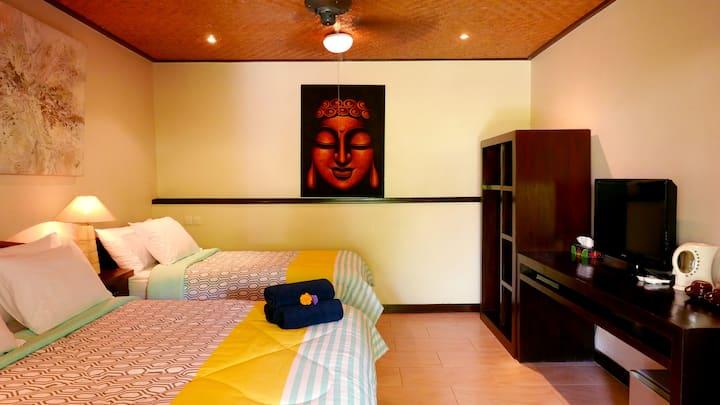Istana Balian King/Single Garden View Suite 4