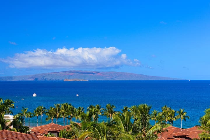 APRIL SAVINGS:VACATION IN YOUR OWN PRIVATE MAUI PARADISE! Sea Breeze J405 Spectacular Ocean View!