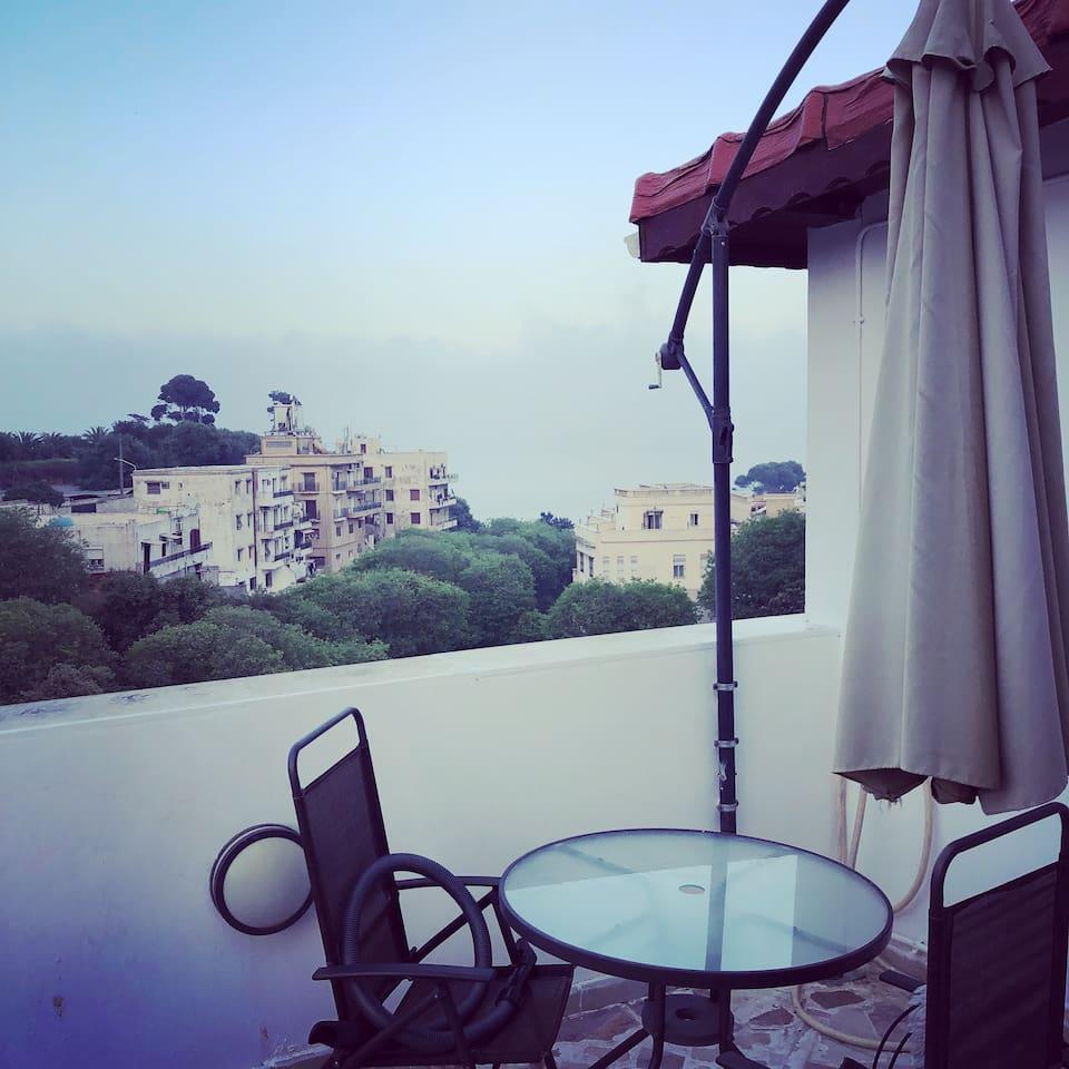 Appartement luxueux avec terrasse et vue splendide sur la baie d'Alger