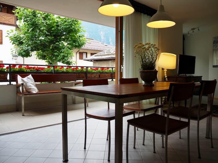 Maturino27, appartamento in centro a Pinzolo