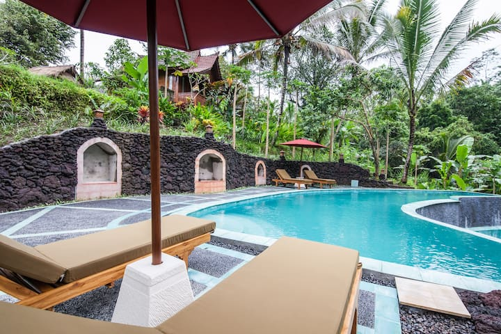 Ubud Song Broek Villa #Laksmi - Payangan - Bed & Breakfast