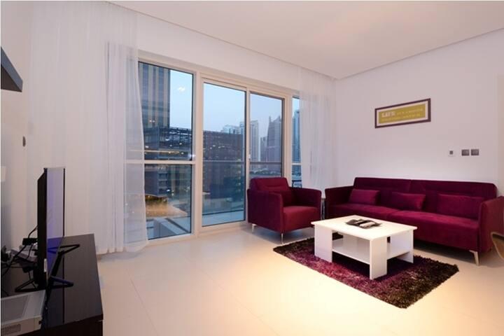 Luxury 1 BR Apt /West Avenue/Dubai Marina - Dubai - Wohnung