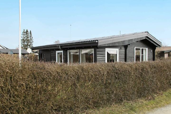 Modern Holiday Home in Karrebæksminde with Barbecue