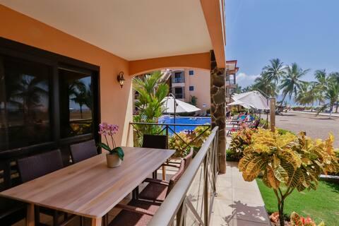 Bahia Encantada 1A- Absolute Oceanfront Two Bedroom Luxury Condo