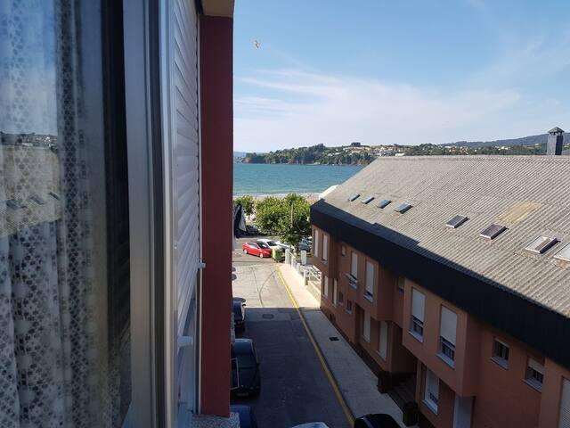 Apartamento pie de Playa Miño (A Coruña, Galicia)