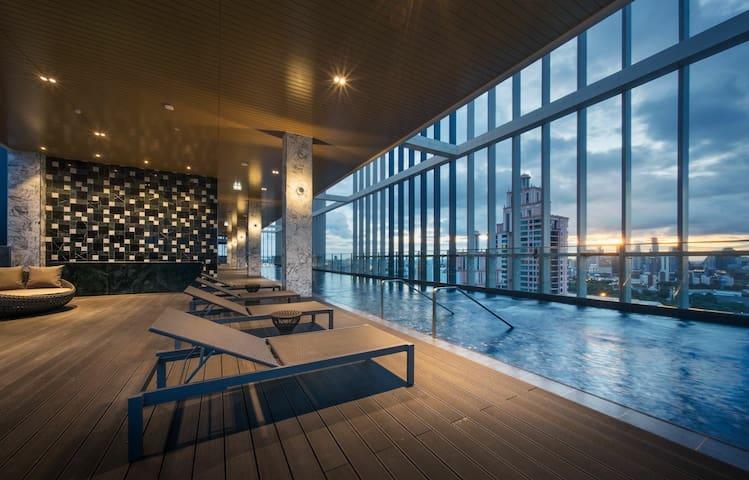 G(P24)Luxury Studio A sky pool heart of Bangkok
