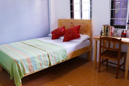Cozy, comfy rooms near Ateneo and UP