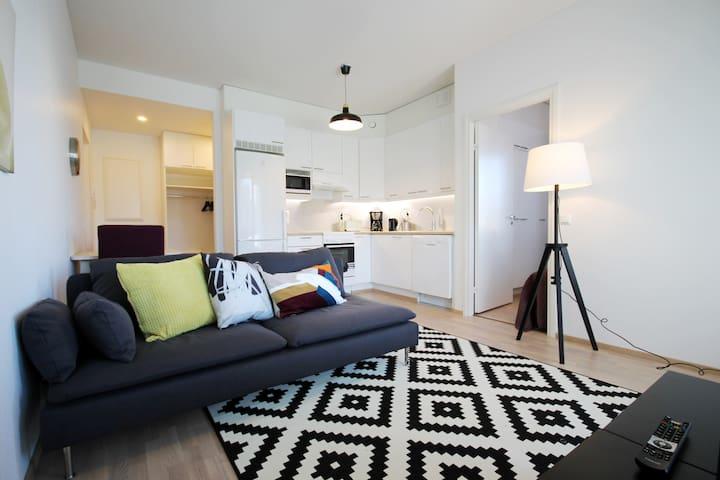 Luxurious one bedroom apartment near the lake - Joensuu - Wohnung