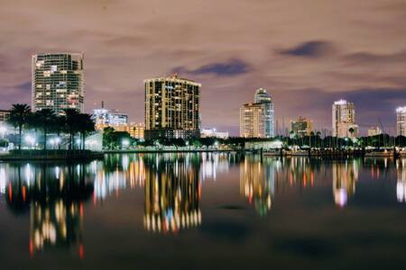 Welcome to Downtown St. Pete & Walk to Everything!