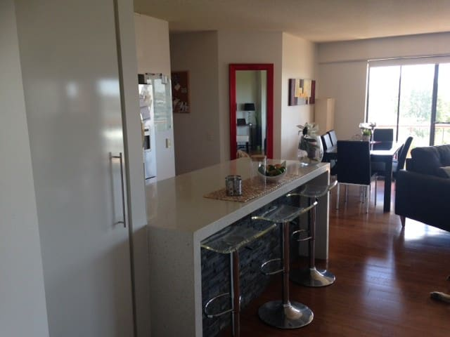 fully furnished 2 bed + 2 bath room - Bowen Hills - Appartement