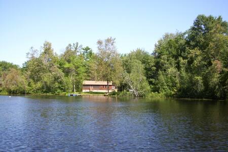 Kezar Lake Waterfront Cottage - Glenwaydon