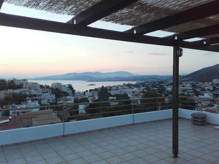⭐ Saronida Amazing Seaview Apartment ⭐