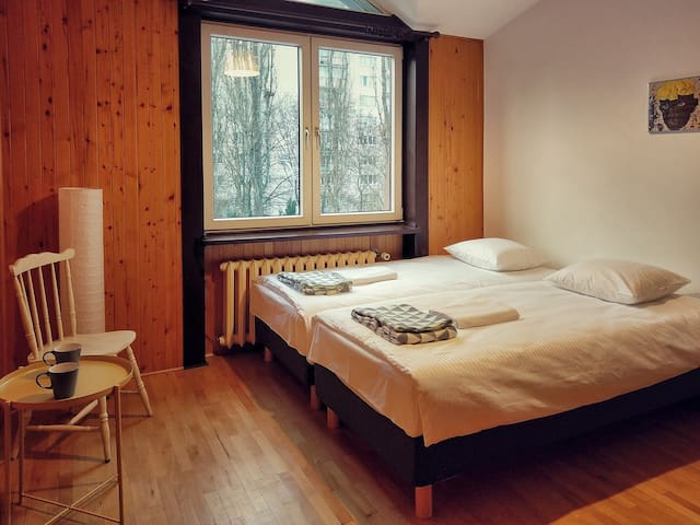MOSU Wawa cozy privat room - Warsaw - House