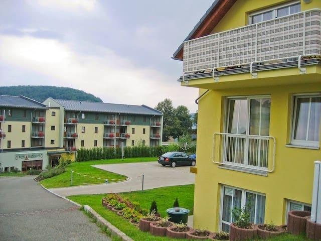 "Villa ""Sonnenschein"" 1 - Am Kurpark - Bad Schlema - Leilighet"