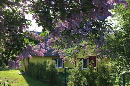 Kuraga guesthouse in Kihnu.