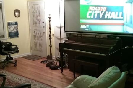 15 minutes to NYC shared apartment - Englewood - Apartment