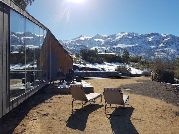 Cabaña Refugio montaña Fdo San Francisco Los Andes