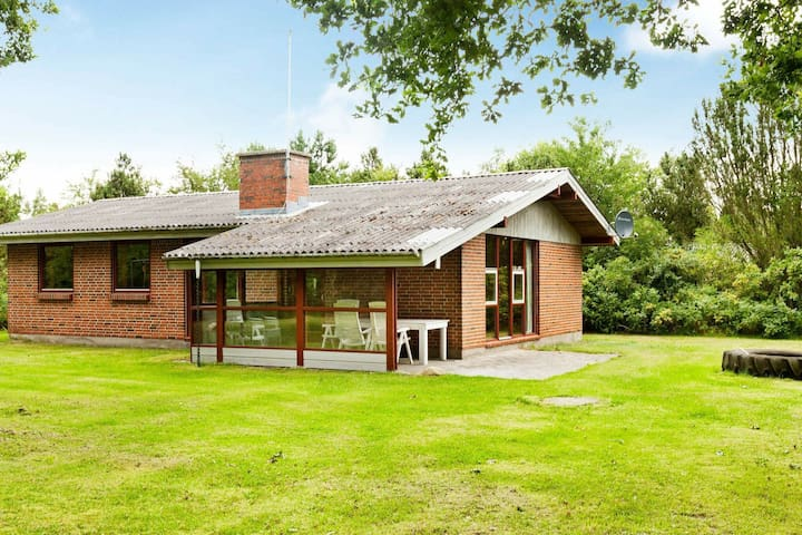 Luxury Holiday Home in Ørsted with Sauna