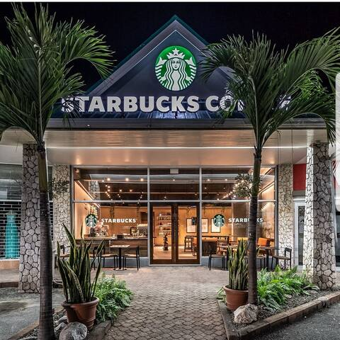 5 minutes from Starbucks