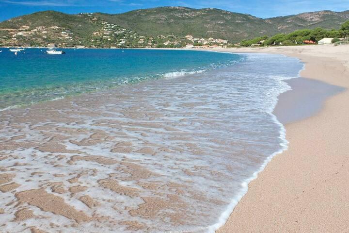 Magnifique  3 pièces à 50 m de la plage pour 4 ps