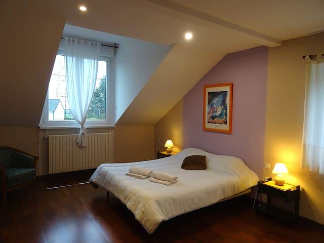 Grande Chambre + sdb 30m² Chez Gérard