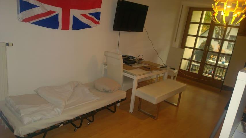 Living together / 1 Room / Gemütlichkeit/Cozyness - Dachau - Huoneisto