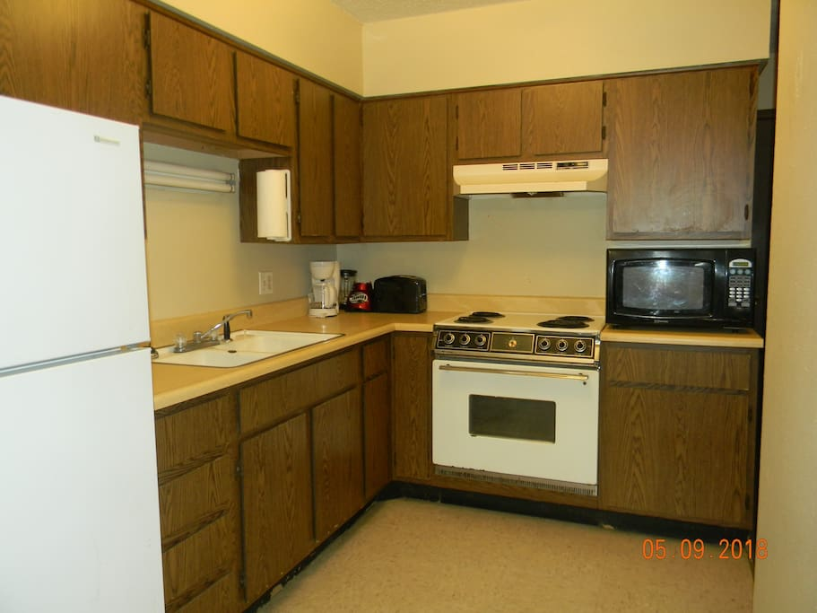 Kitchen included