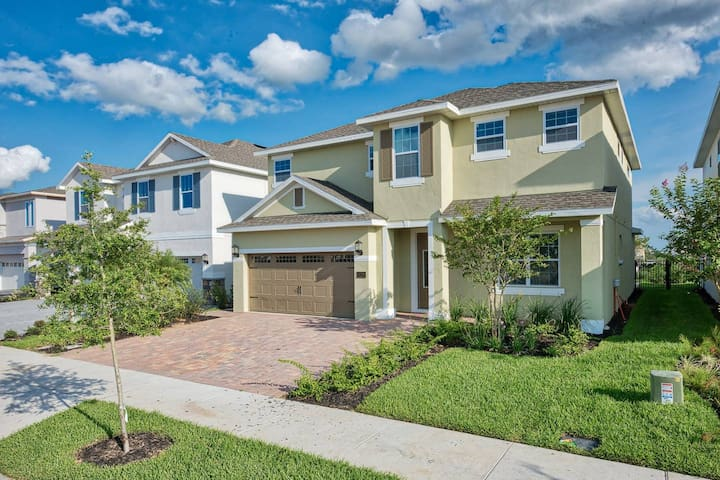 Beautiful Luxury Home 10Min to Disney+large group!