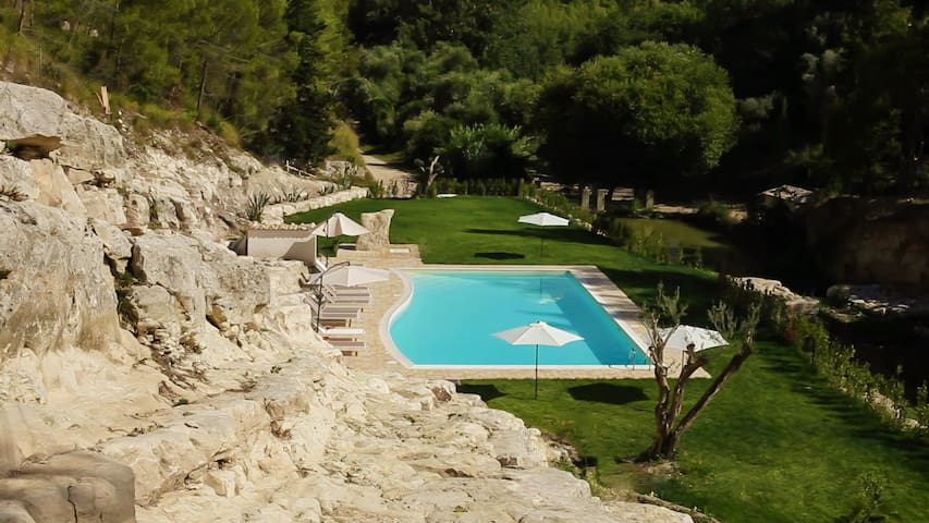 Sicily.Cottage with swimming pool