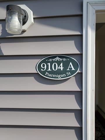 Address for 9104 A Ptarmigan Street