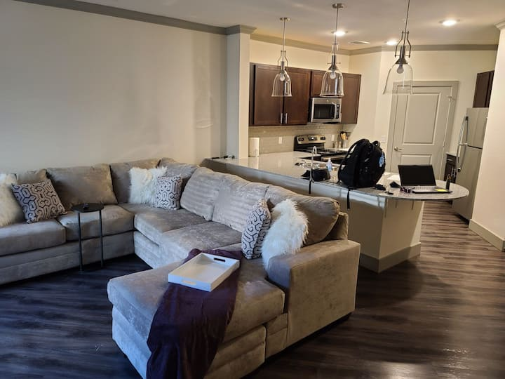 Brand new apt in north Dallas, access to I35 & 635