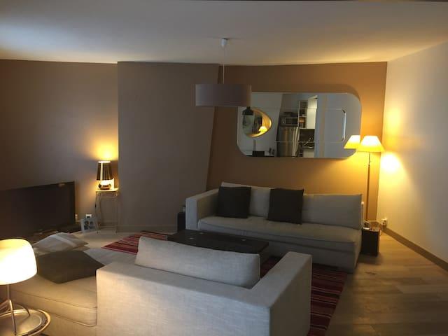 Appartement chaleureux 3 chambres