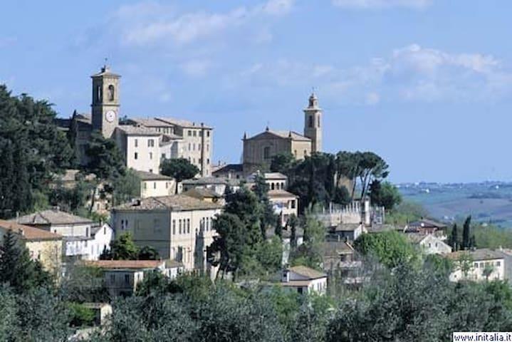 Ancona   La Collina delle Streghe - Castelbellino - Apartament