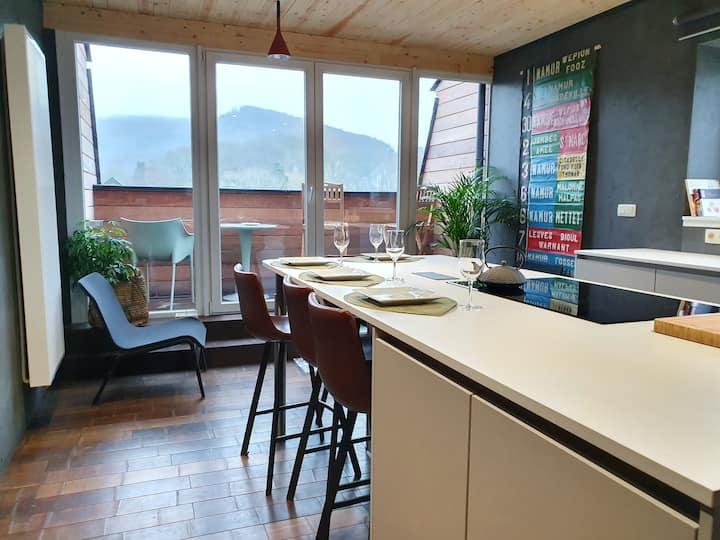 Appartement  Vue sur Meuse