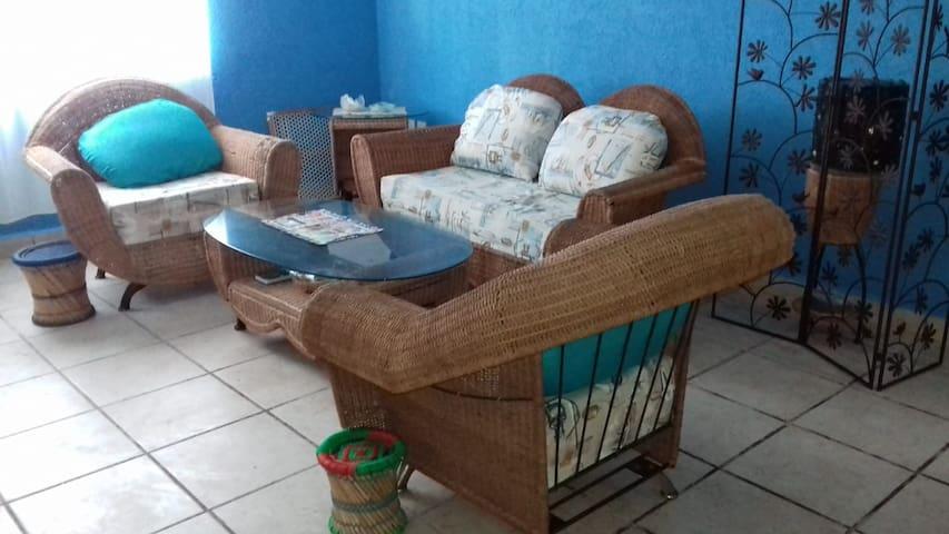 Casa en Mahahual por dia o semana