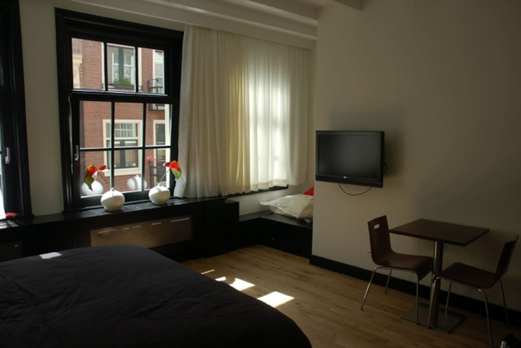 B b de 9 straatjes city center chambres d 39 h tes for Chambre d hotes amsterdam