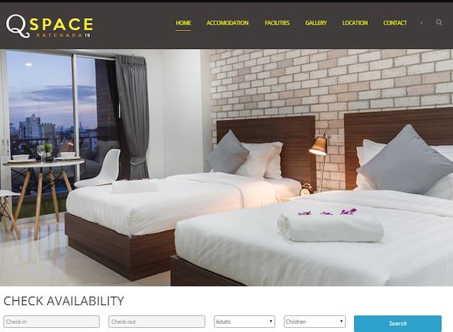 # 703 Homey, Quiet, NEW Apt ★ near MRT Ratchada - Banguecoque - Condomínio
